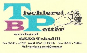 tischlerei petter